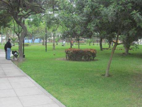 Terreno Fondo A Parque Miraflores 507 M2 $880,000