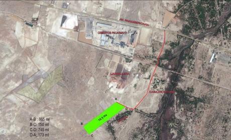 Terreno Industrial 10.5 Has - Espaldas De Cementos Pacasmayo
