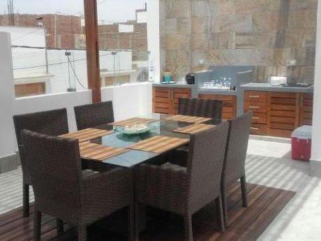 Alquilo Casa Playa Punta Hermosa De Estreno 5 Dorm $2200 Terraza Bbq
