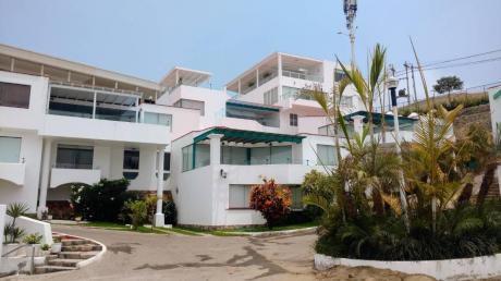 Alquilo Exclusiva Casa De Playa En Condominio Villas De Santa Maria
