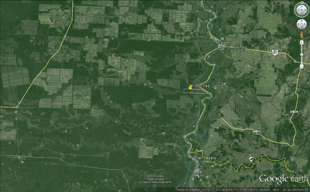 Sobre El Río Paraguay Zona Pto Murtinho