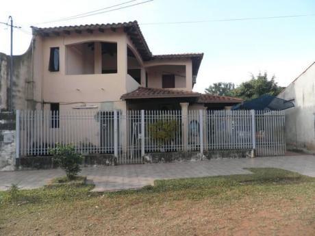 Vendo Casa De Dos Plantas En San Lorenzo, A Una Cuadra De Asfalto,bº Mita í.