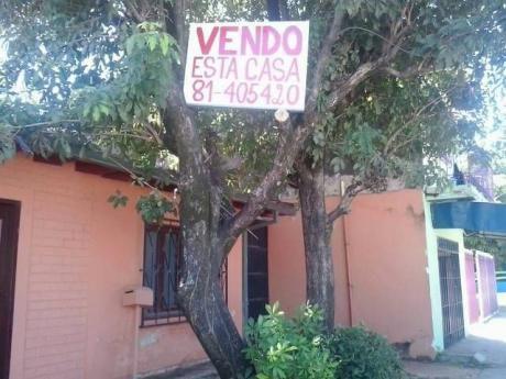 Vendo Casa A 70 Mts De Av. Mcal López,pegado A Face