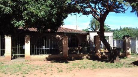 Vendo Casa Amplia En Isla Bogado(luque).