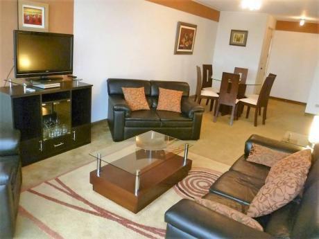 San Isidro Amplio Dpto 1 Dormitorio Amoblado Piscina Gimnasio.$850