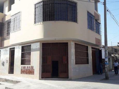 Venta De Edificio Muy Bien Ubicado - Los Olivos