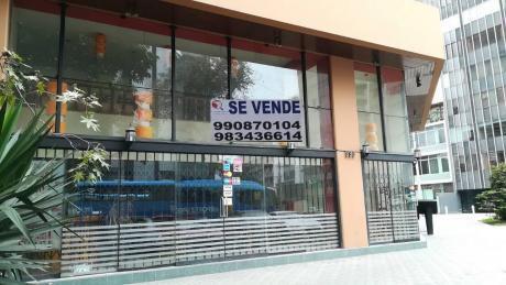 Venta Local Comercial Miraflores - Esquina, 2 Niveles, Puerta A Calle