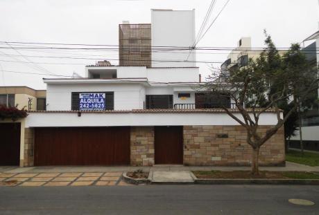 Preciosa Casa En La Mejor Zona De Miraflores