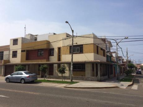 Alquilo Casa Para Empresas O Negocios En Urb. San Andres - Trujillo