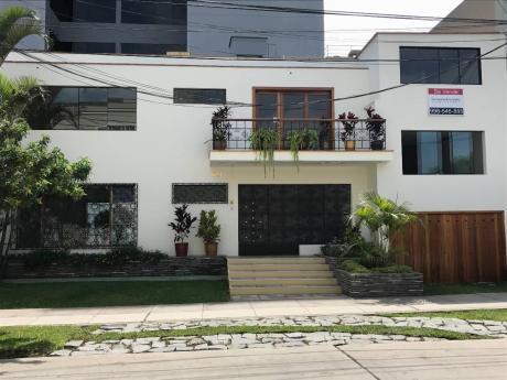 Casa Para Remodelar O Como Terreno En Miraflores