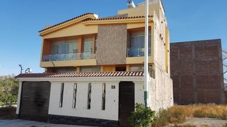 Se Vende Hermosa Casa De 4 Pisos En Sachaca – #122