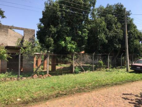 Casa A Terminar Con Terreno De 24x30. Esquina