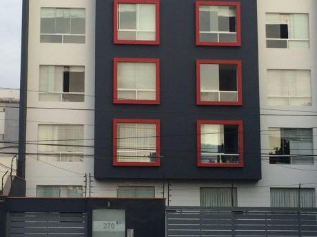 Av Surco, 105 M2, 3 Dorm., Vista Exterior, Cochera Techada, Ascensor