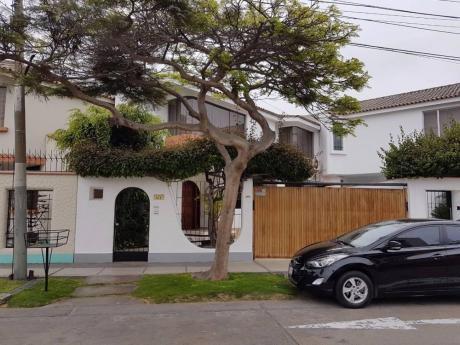 Alquiler De Casa En San Borja, Calle Hals