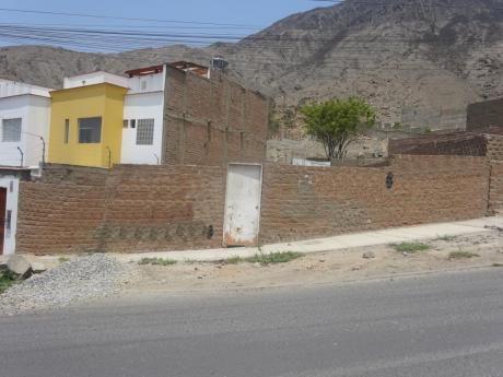Terreno Residencial En La Urb. Portada Del Sol De La Molina