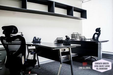 Oficinas Equipadas Y Amobladas Desde $480 En Surco - Llama Al