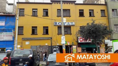 Vendo Hotel En Funcionamiento En La Victoria, En La Misma Av Bausate Y Mesa