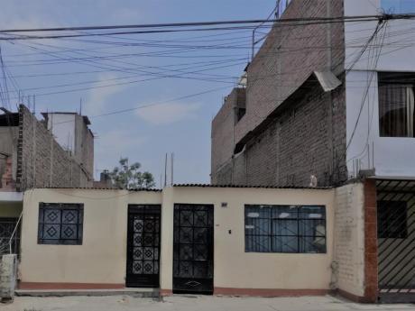 Casa Terreno En Venta San Juan De Miraflores