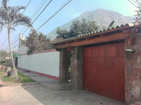 En Venta Casa En Cieneguilla (id 52466)