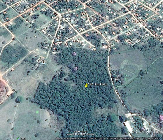 Amplio Terreno De 6,5 Ha En El Centro De San Pedro Del Ycuamandiyú