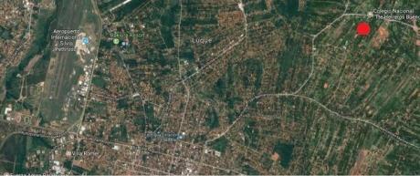 Oferta Espectacular Terreno De 3500 M2 En Luque, Itapuami, De Calle A Calle