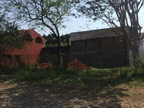 Vendo Terreno En Lambare En Esquina 12x18
