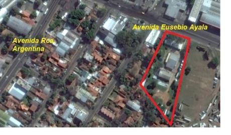 Oferta Terreno Zona Hipodromo Sobre Eusebio Ayala C/ RepÚblica Argentina