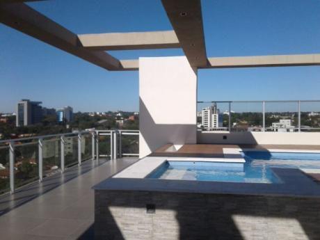 Fabuloso Y Exclusivo Penthouse De 2 Pisos En El Corazón De Villa Morra