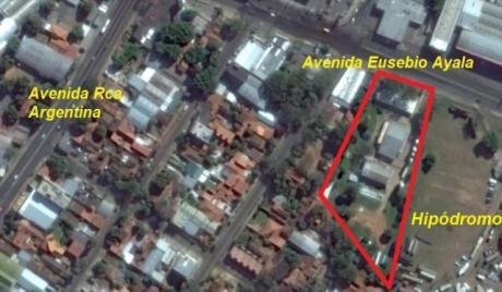 Amplio Y Único Terreno Sobre Eusebio Ayala Zona Hipodromo