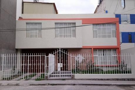 Alquilo Amplia Casa En Parte Baja De Cayma