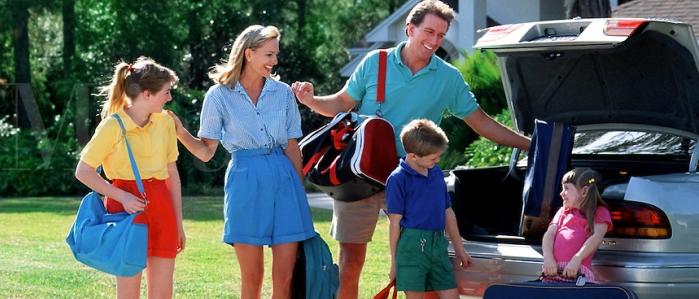 Dejando la casa segura antes de salir de vacaciones