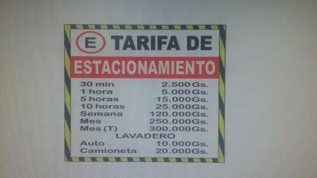 Estacionamiento Tarifado En San Lorenzo - Zona Mercado, Super Stock