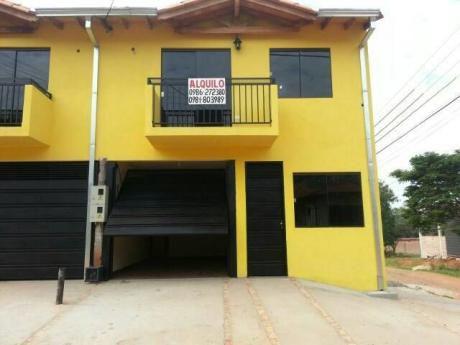 Alquilo Duplex En Ñemby Barrio Coca Cola A 1