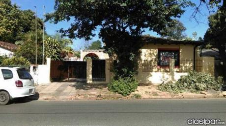 Alquilo Casa Para Vivienda O Negocio Sobre Tte Molas, San Lorenzo