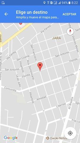 Terreno (con Casa) En Barrio Jara