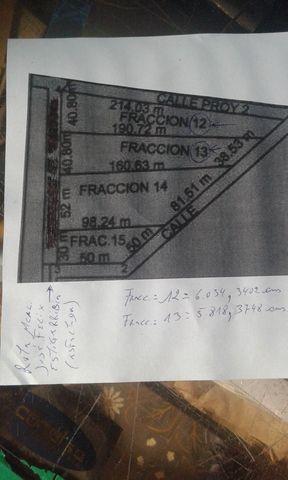 Terreno Con 6.034 M2.(fraccion 12) Frente A Ruta Asfaltada