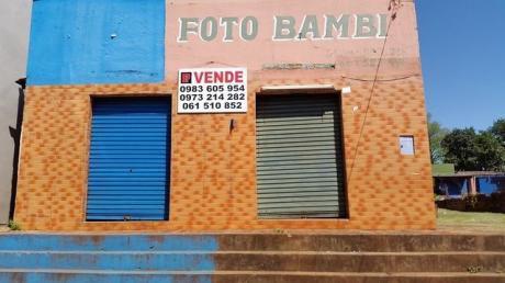 Ciudad Pte. Franco En El Punto Mas Comercial!!! 2 Salones Sobre Av. Bernardino Caballero