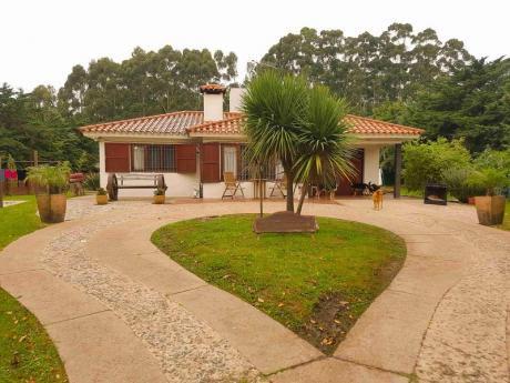 Hermosa Chacra Con 2 Casas A Metros De Camino De Los Horneros