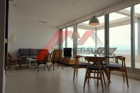 Apartamento En Alquiler 1 Dormitorio En Suite Con Hidromasaje Y Parrillero Privado - Malvin