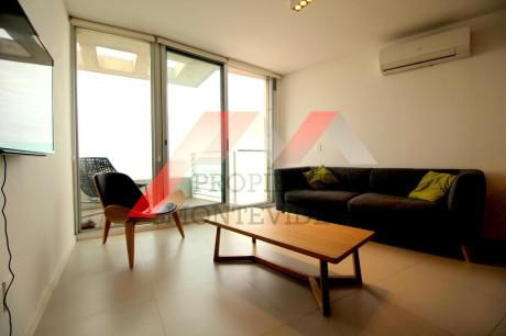 Apartamento En Alquiler Amoblado 1 Dormitorio - Malvin