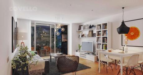 Apartamento - Cordón, 2 Dormitorios, Baño, Terraza . Vivienda De Interés Social.