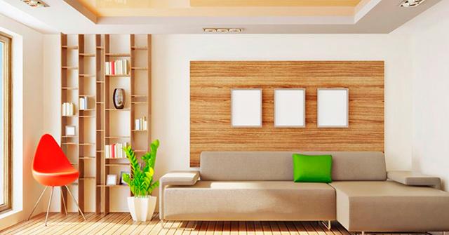 Un color para cada parte de la casa
