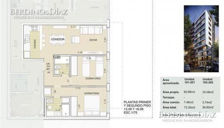 Ocupe Ya! Precioso Apartamento En Pocitos, Cerca De La Rambla Y Todos Los Servicios