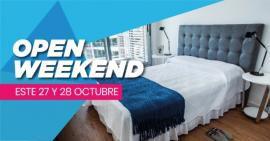 Open Weekend en Torres Nuevocentro con promoción imperdible para Alquiler con Opción a Compra