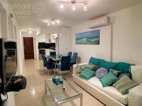 Departamento  En Venta - En Alquiler De Un  Dormitorio, Terazza, Cochera , Piscina En Punta Del Este - Aidy Grill.